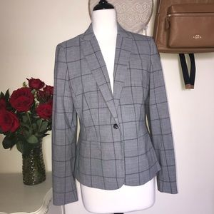 Banana Republic Boy Blazer in Low Gray